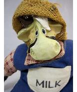 Russ Milk Cow Berrie Kathleen Kelly Critter Factory Collectible Bean Bag - $19.99