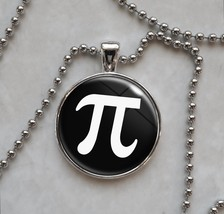 Pi Symbol 3.14 π Mathematics Math Pendant Necklace - $14.85+