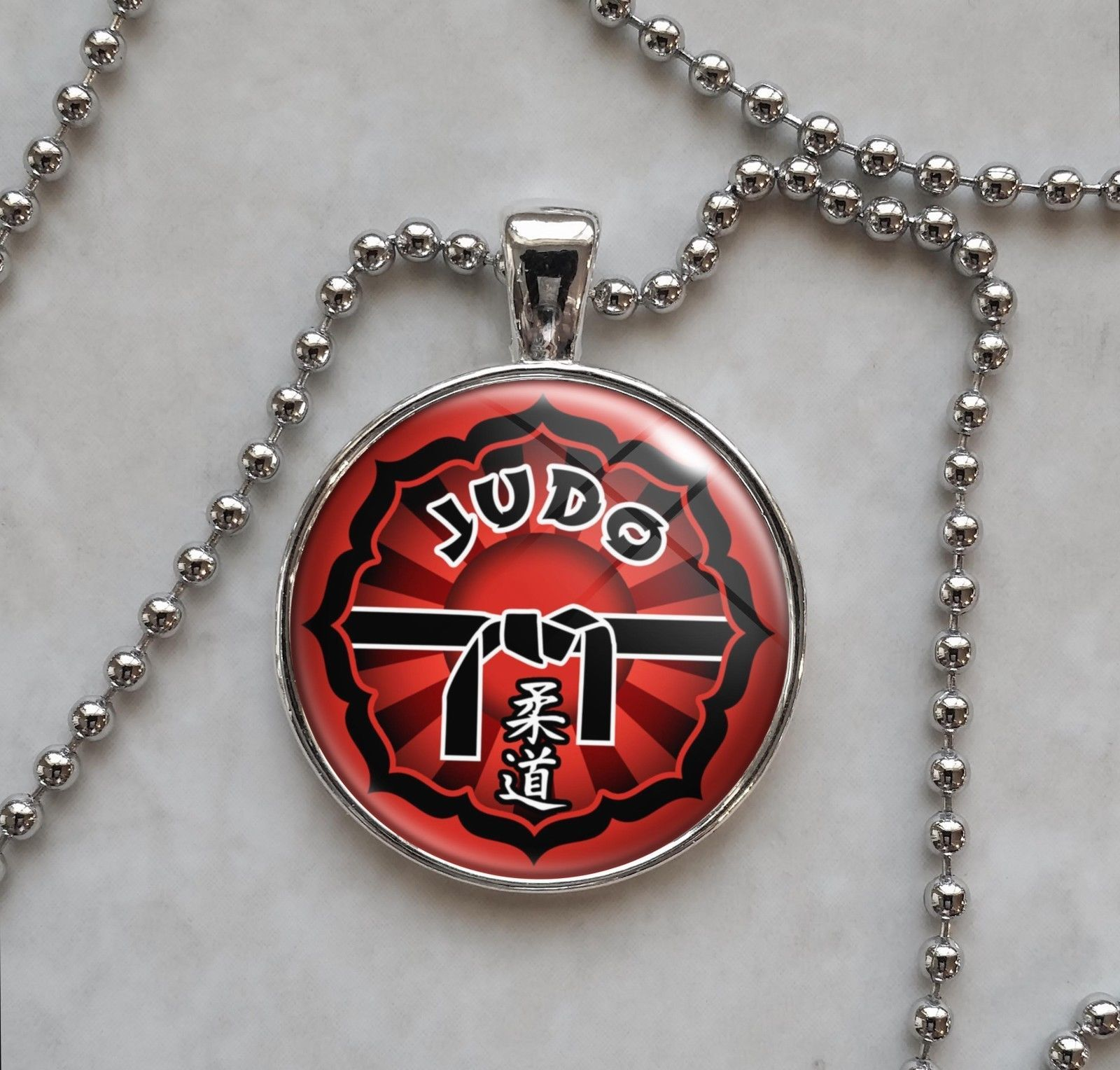 Primary image for Judo Martial Arts MMA Pendant Necklace
