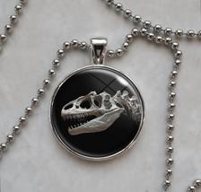 Allosaurus theropod dinosaur predator prehistoric Pendant Necklace - $14.00+