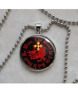 Choose Quote Dracula Order of Dragon Vampire Pendant Necklace - $15.00+