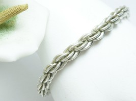 "Sterling 7"" Solid Rope Chain Bracelet, 13.5g - $39.00"