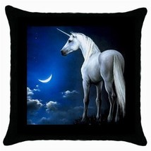 Throw Pillow Case Decorative Cushion Cover Unicorn Gift - $16.99