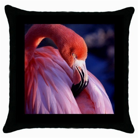 Throw Pillow Case Decorative Cushion Cover Pink Flamingo Gift