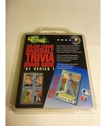 Classic 1991 Major League Baseball Board Game with 99 Baseball Player Cards - $13.85
