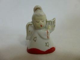 Small Porcelain Japan Christmas Figure Angel Pl... - $7.91