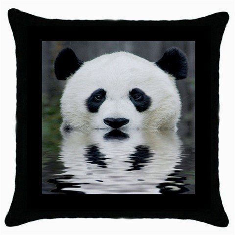 Throw Pillow Case Decorative Cushion Cover Panda Bear Reflection Gift