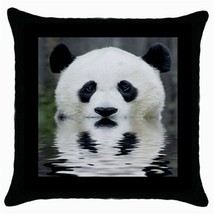 Throw Pillow Case Decorative Cushion Cover Panda Bear Reflection Gift - $16.99