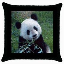 Throw Pillow Case Decorative Cushion Cover Panda Bear Gift - £12.71 GBP