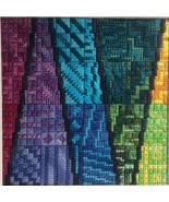 Color Delights - Rainbow 2 counted canvaswork chart Needle Delights   - $9.00