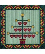 Holiday Tree VIII canvaswork chart From Nancy's Needle  - $13.50