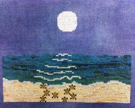 Summer Moonlight cross stitch chart Fireside Originals - $9.00
