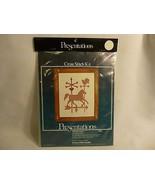 Presentations Weathervanes Cross Stitch Kit 11x14 Rare 7202 - $16.81