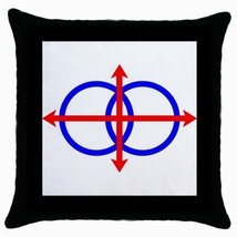Throw Pillow Case Decorative Cushion Cover Lojban Flag Gift - $16.99