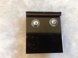 New Jubilee! Floral Silver Toned Jewelry Set Ring Earrings Bracelet Pink image 6