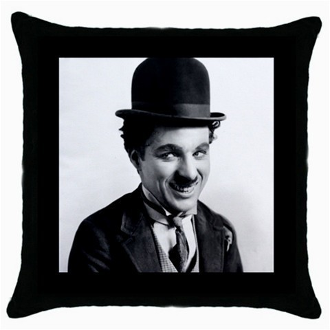 Throw Pillow Case Decorative Cushion Cover Charlie Chaplin Gift