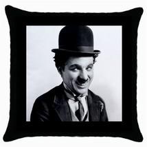 Throw Pillow Case Decorative Cushion Cover Charlie Chaplin Gift - $320,15 MXN