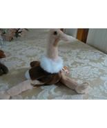 "Rare Ty Original Beanie Babies ""Stretch"" The Ostrich - Retired Errors 19... - $128.69"