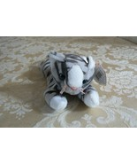 "Rare Ty Original Beanie Babies ""Prance"" The Grey Stripe Cat/Retired Erro... - $128.69"
