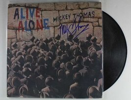 "Mickey Thomas Signed Autographed ""Alive Alone"" Record Album - COA Matching Ho... - $39.59"
