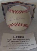 Aaron Hill Autographed Major League (OML) baseball - TriStar Authenticated - $34.64