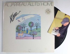 "Al Jarreau Signed Autographed ""All Fly Home"" Record Album w/ Proof Photo - $39.59"