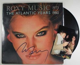 "Bryan Ferry Autographed ""The Atlantic Years"" Record Album w/ Proof Photo - $69.29"