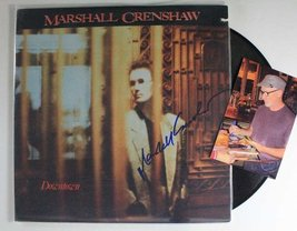 """Marshall Crenshaw Signed Autographed """"Downtown"""" Record Album w/ Proof Photo - $39.59"""
