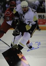 Evgeni Malkin Signed Autographed 11x14 Photo w/ Proof Photo - Pittsburgh Peng... - $79.19