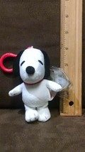 TY Beanie Baby - SNOOPY the Dog ( Peanuts - Plastic Key Clip ) (4.5 inch... - $14.99