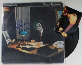 "Randy Newman Autographed ""Born Again"" Record Album w/ Proof Photo - $49.49"