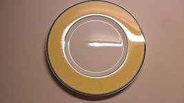 Villeroy Boch Germany Plate Messemuster Sample for Fair Yellow Black Ech... - $15.00