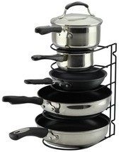 Pan Rack Organizer Holder for Kitchen, Countert... - $10.88