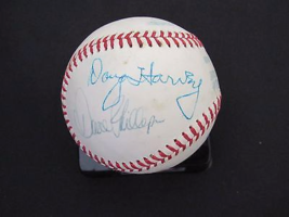 1977 Yankees Stadium All Star Game Umpire Signed Auto Game Vintage Baseball Psa - $395.99