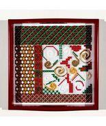 Santa's Tray christmas counted canvaswork chart... - $14.40