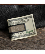 Sporty Fit Money Clip - Personalized - Monogram Engraved Gifts for Men -... - $15.99