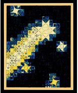 Blazing Stars counted canvaswork chart DebBee's... - $10.80