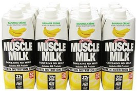 CytoSport Muscle Milk Ready-to-Drink Shake, Banana Creme, 17 Ounce Carto... - $55.43