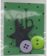 BUTTON PACK for Drive A Stick cross stitch chart Amy Bruecken Designs   - $6.00