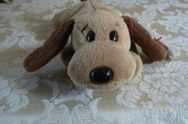 "Rare Ty Original Beanie Babies ""Bones "" The Dog/Retired Errors Mint 1993... - $1,286.99"