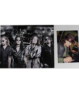 Jake E. Lee's Red Dragon Cartel Group Signed Autographed Glossy 8x10 Photo w/... - $59.39