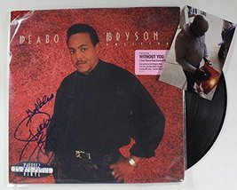"Peabo Bryson Signed Autographed ""Positive"" Record Album w/ Proof Photo - $39.59"