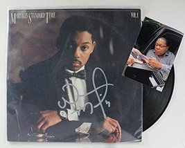 "Wynton Marsalis Signed Autographed ""Standard Time"" Record Album w/ Signing Photo - $49.49"