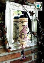 Halloween Cone cross stitch chart Thistles - $6.75