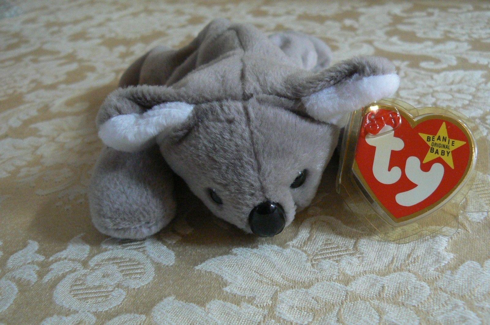 "Rare Ty Original Beanie Babies "" Mel "" The Koala Bear /Retired Errors Mint 1996"