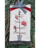 Primitive Christmas Tree LIMITED EDITION Kit cross stitch The Bee Company  - $16.00