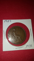 1907 English One Penny  - $3.99