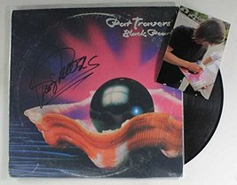 "Pat Travers Signed Autographed ""Black Pearl"" Record Album w/ Proof Photo - $39.59"