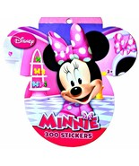 Disney Minnie Mouse Daisy Duck 300 Sticker Book Ages 3+ Fun Stickers 8 P... - $3.95