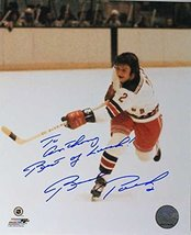 Brad Park Signed Autographed 'To Anthony' Glossy 8x10 Photo (New York Rangers... - $24.74